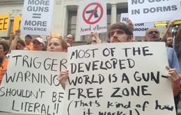 Trường đại học Mỹ cho phép sinh viên mang súng vào giảng đường