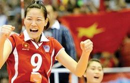 Ngọc Hoa, Thanh Thúy đồng hành cùng đội bóng chuyền vô địch Thái Lan