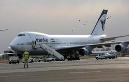 Iran đạt thỏa thuận mua máy bay với Boeing