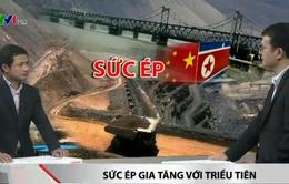 Trung Quốc siết chặt cấm vận thương mại với Triều Tiên