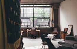 Thích thú với thiết kế của căn hộ có khung cửa sổ lớn