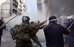 Hy Lạp: Biểu tình lớn tại thủ đô Athens phản đối cải cách lương hưu