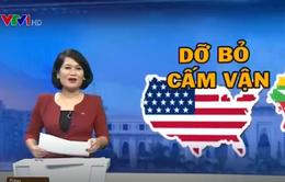 Tổng thống Obama cam kết bỏ lệnh cấm vận với Myanmar