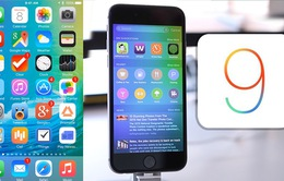 75% sản phẩm di động của Apple hiện nay dùng iOS 9