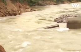 Vỡ đập dự án chỉnh trị sông A Vương: Do quy hoạch thiếu khoa học?