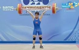 Trịnh Văn Vinh giành HCV tại Giải cử tạ Vô địch châu Á 2016