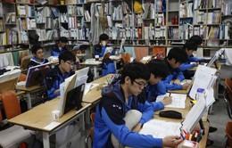 Hàn Quốc: 4 học sinh thì có 1 học sinh nghĩ đến tự tử