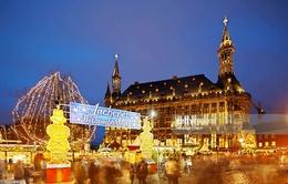 Lung linh sắc màu chợ Giáng sinh Aachen tại Đức