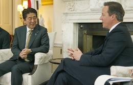 Thủ tướng Nhật Bản gặp song phương với Thủ tướng Anh