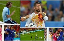 """Thông điệp bí mật của Modric, yếu tố quyết định khiến Ramos """"ôm hận"""""""