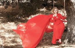 Adele khoe vẻ mặn mà trên tạp chí Vanity Fair