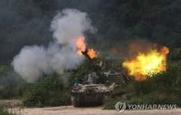 Hàn Quốc tập trận pháo binh quy mô lớn nhất gần Triều Tiên