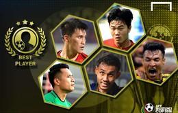 Xuân Trường áp đảo trong cuộc bầu chọn Cầu thủ xuất sắc nhất AFF Cup 2016