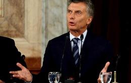Argentina mở cuộc điều tra đối với Tổng thống Macri
