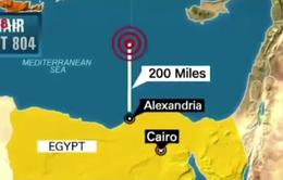 Định vị xác máy bay EgyptAir dưới Địa Trung Hải