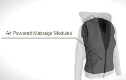 Độc đáo áo khoác massage dành cho dân công sở