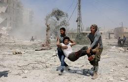 Không kích dữ dội ngay sau thỏa thuận ngừng bắn tại Syria