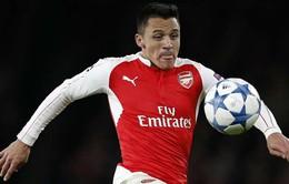 HLV Wenger thận trọng khi nói về tình hình chấn thương của Sanchez