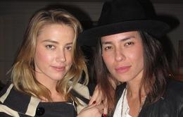 Trước Johnny Depp, Amber Heard từng kết hôn với người tình đồng giới?