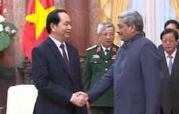 Chủ tịch nước tiếp Bộ trưởng Quốc phòng Ấn Độ