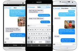 iMessage hoạt động trên iOS là quá đủ, không cần phát triển trên Android