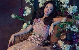 Angela Phương Trinh biểu cảm sắc lạnh trong bộ ảnh mới