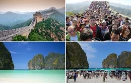 """Hình ảnh """"không như mơ"""" của các địa điểm du lịch nổi tiếng thế giới"""
