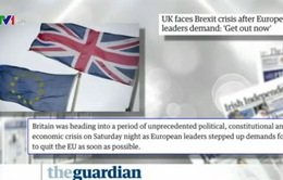 """Nước Anh sau cuộc trưng cầu dân ý - Đề tài """"nóng"""" của báo chí quốc tế"""