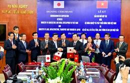Hợp tác về thủy lợi giữa Việt Nam - Nhật Bản