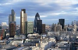 """Chỉ số chứng khoán FTSE 100 tăng vọt kỷ lục, đồng bảng Anh """"phá đáy"""""""