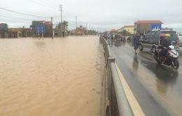 Quảng Bình: Giao thông tê liệt vì trận lũ lịch sử