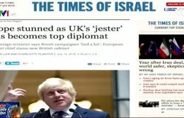 Boris Johnson - Cơn ác mộng trên bàn ngoại giao
