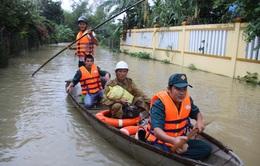 Các hồ chứa tại Quảng Nam giảm xả nước để hạn chế ngập sâu