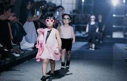 Sàn diễn chuyên nghiệp cho mẫu nhí lần đầu tổ chức tại Việt Nam