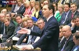 Bộ trưởng Tài chính Anh trình bày kế hoạch chi tiêu ngân sách 2016
