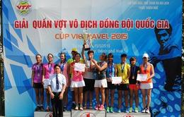 VTVcab tường thuật trực tiếp Giải quần vợt vô địch đồng đội quốc gia