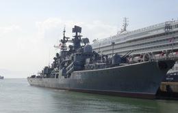 Tàu hải quân Nga thăm Đà Nẵng