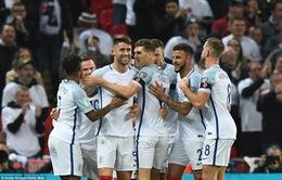 Vòng loại World Cup 2018: ĐT Anh thắng dễ ĐT Scotland trên sân nhà