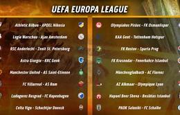 Bốc thăm vòng 1/16 Europa League: Man Utd gặp Saint-Etienne, Tottenham đối đầu Gent