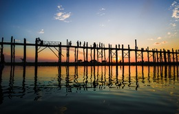 Ngắm U Bein - Cây cầu gỗ lâu đời và dài nhất thế giới