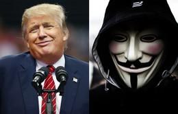 Nhóm tin tặc Anonymous tuyên chiến với Donald Trump