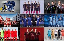 Chùm ảnh: Áo đấu mùa giải 2016/17 của các CLB châu Âu