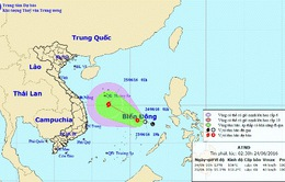 Áp thấp nhiệt đới gây mưa dông trên cả nước
