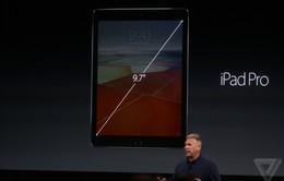 iPad Pro 9,7 inch ra mắt: Thêm lựa chọn màu vàng hồng, bộ nhớ 256GB