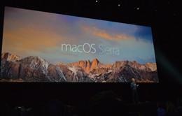 OS X đổi tên thành macOS, tích hợp Siri, tự động mở khóa bằng Apple Watch