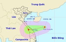 Tối nay, áp thấp nhiệt đới đổ bộ vào Trung Trung Bộ