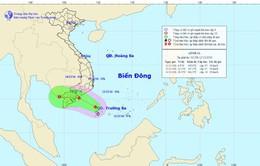 Áp thấp nhiệt đới cách Huyền Trân khoảng 130km