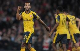 Walcott lập cú đúp, Arsenal thắng trận đầu tại Champions League 2016/17