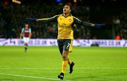 """Vòng 14 Ngoại hạng Anh: West Ham 1-5 Arsenal: Cuộc dạo chơi của """"Pháo thủ"""""""