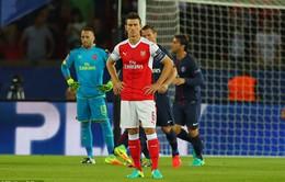 Arsenal lập kỷ lục không mong muốn trong ngày khai màn Champions League